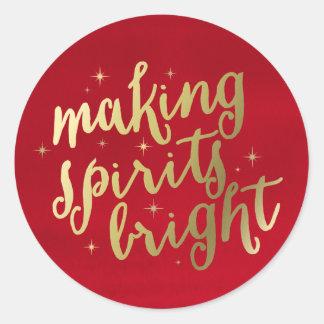 Bright Spirits | Holiday Stickers