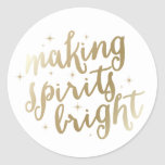 Bright Spirits | Holiday Stickers