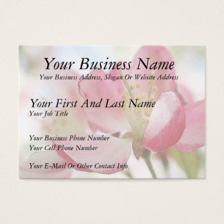 Bright Spring Apple Blossoms Business Card