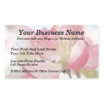 Bright Spring Apple Blossoms Business Card Templates