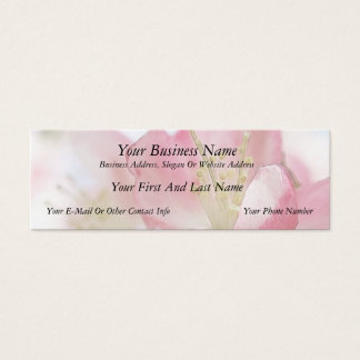 Bright Spring Apple Blossoms Mini Business Card