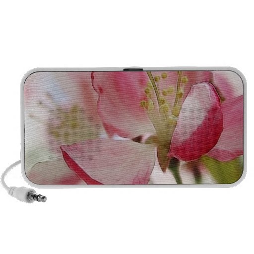 Bright Spring Apple Blossoms Travel Speakers