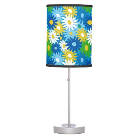 Bright spring daisies desk lamp