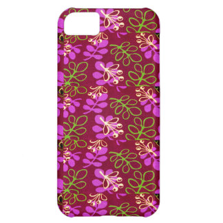 BRIGHT SPRING FLORAL ART DESIGN-NATURE PATTERN 5c Cover For iPhone 5C