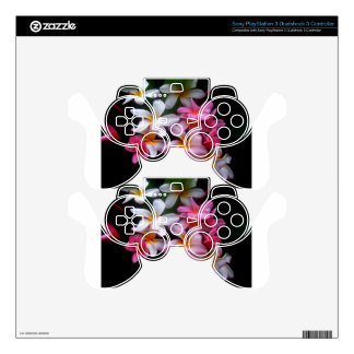 Bright Spring Pink Flower Cluster PS3 Controller Decal