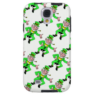 Bright St. Patrick's Day Leprechauns Pattern Galaxy S4 Case