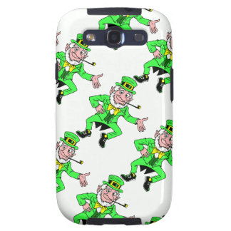 Bright St. Patrick's Day Leprechauns Pattern Samsung Galaxy S3 Case
