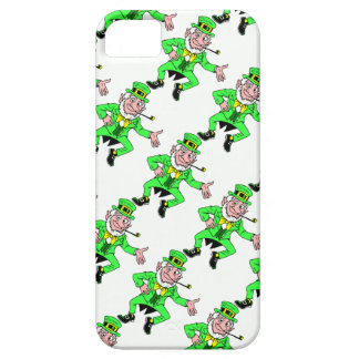 Bright St. Patrick's Day Leprechauns Pattern iPhone 5 Covers