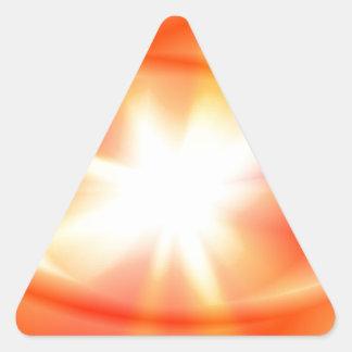 Bright Star Triangle Sticker