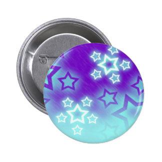 Bright Stars 2 Inch Round Button