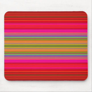 Bright Stripes Mouse Pad