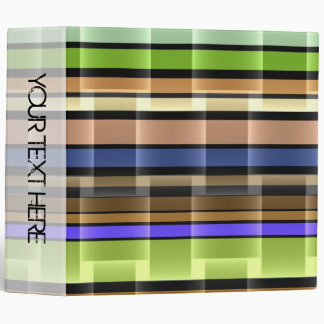 Bright stripes seamless modern design 2 binder