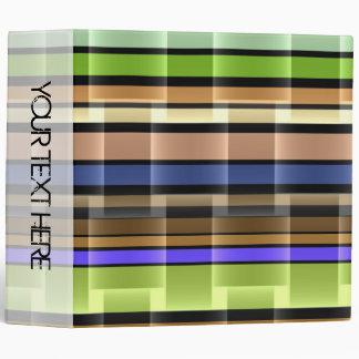 Bright stripes seamless modern design 2 binder