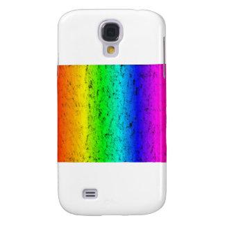 Bright Strokes Rainbow Galaxy S4 Case