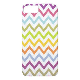 Bright Summer Chevron Pattern iPhone 7 case
