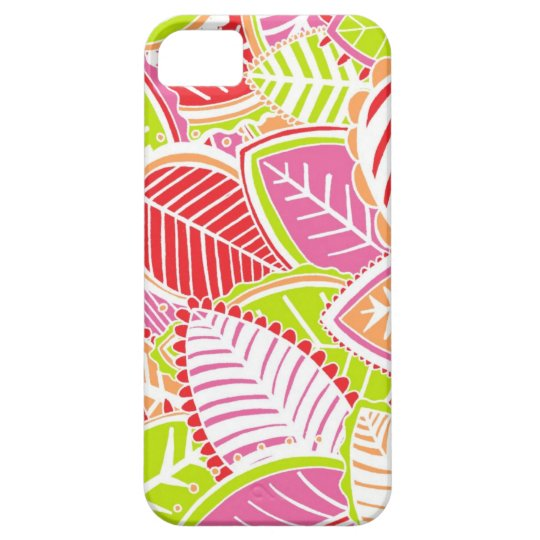 Bright Summer Leaves iPhone SE/5/5s Case