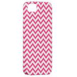 Bright Summer Pink Chevron Pattern iPhone 5 Case