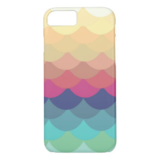 Bright Summer Scallop Pattern iPhone 7 case