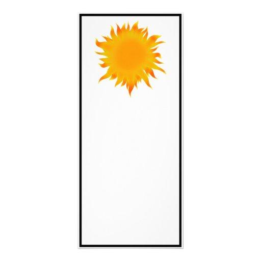 Bright Summer Sun  Sunshine Rack Cards