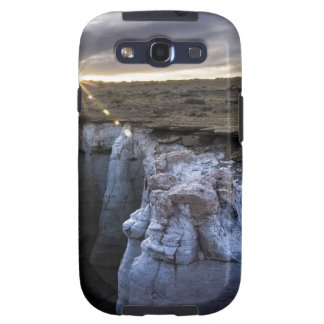 Bright Sun Setting at Coal Mine Canyon Galaxy SIII Cover