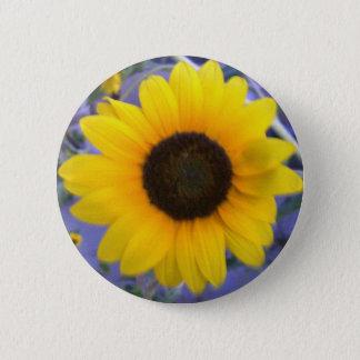 Bright Sunflower Button