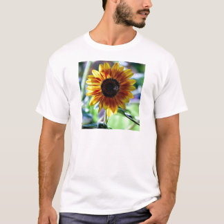 Bright Sunflower - Floral Photography T-Shirt
