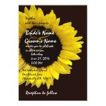 Bright Sunflower Wedding Invitation