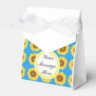 Bright Sunflowers Favor Box