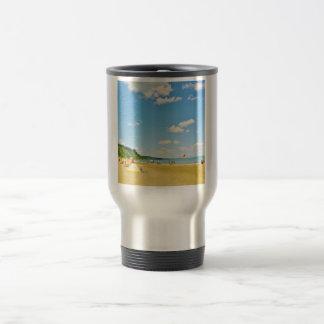 Bright Sunny Beach Day Travel Mug