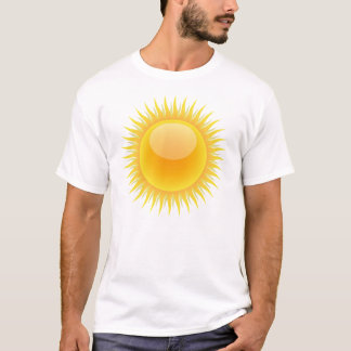 Bright Sunny Day Basic White T-Shirt