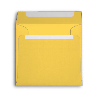 Bright Sunny Yellow Envelopes