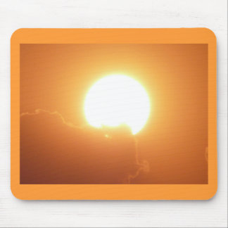 bright sunset mouse pad