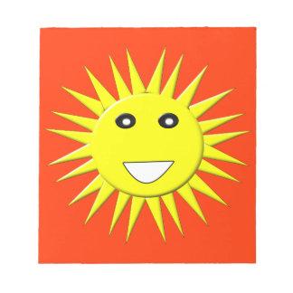 Bright Sunshine Notepad