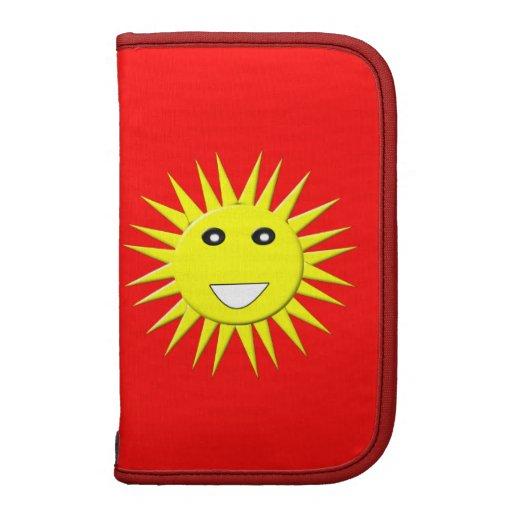Bright Sunshine Rickshaw Folio Organizer