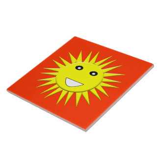 Bright Sunshine Tile
