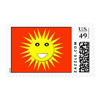 Bright Sunshine US Postage Stamp