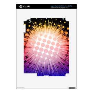 Bright Super Hero Pop Art Skins For iPad 3