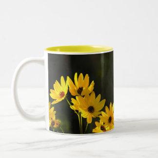 Bright Swamp Sunflowers Coffee Mug