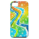 Bright Swirls and Colors iPhone 5 Case