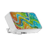 Bright Swirls and Colors Travelling Speaker