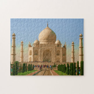 bright taj mahal jigsaw puzzles