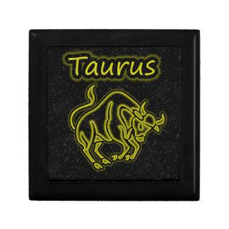 Bright Taurus Jewelry Box