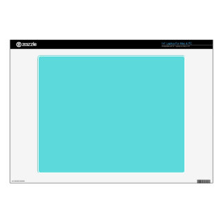 """Bright Teal Personalise Me Skin For 14"""" Laptop"""