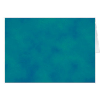 Bright Teal Sky Note Card