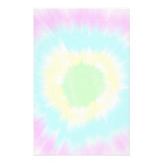 Bright Tie Dye Stationery