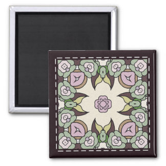 Bright Tile Magnet - 06