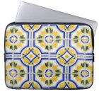 Bright tile pattern, Portugal Computer Sleeve