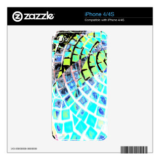 Bright Tiles 2015 iPhone 4 Decal