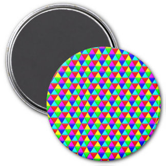 Bright triangles magnet