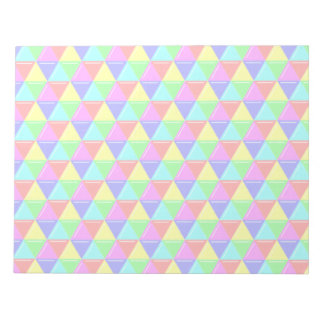 Bright triangles notepad